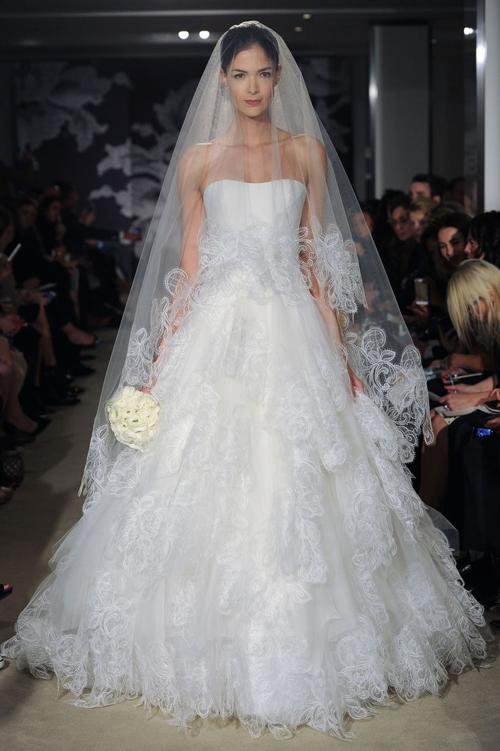 Bridal Fashion Week, Carolina Herrera