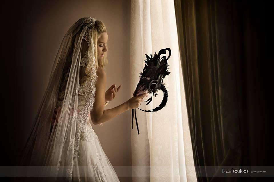 Πορτραίτο νύφης, φωτογραφίες που μιλάνε.-Wedding photography by Babis Tsoukias