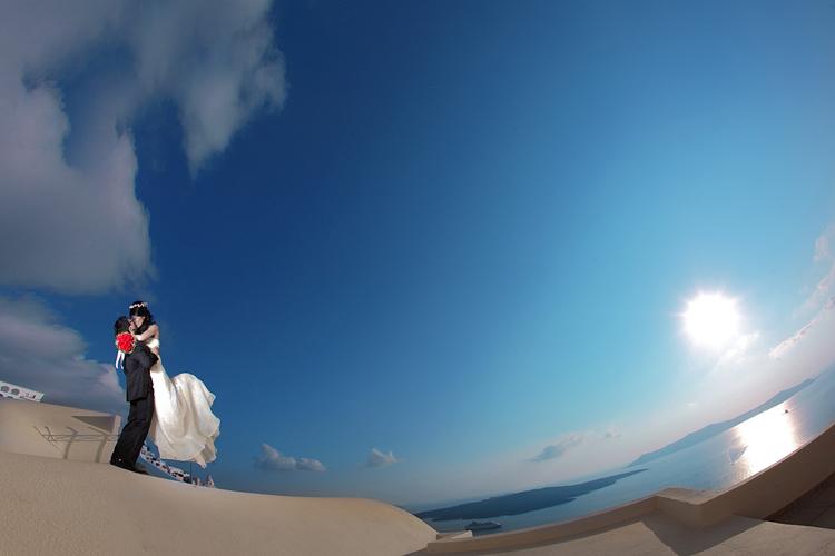 Φωτογράφιση Γάμου στη Σαντορίνη-Rekouniotis