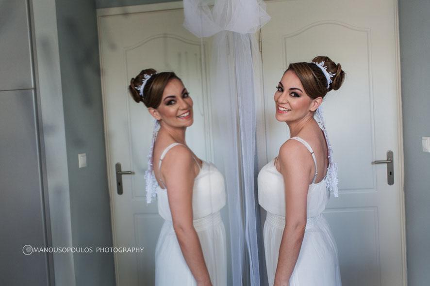 Μοντερνος γαμος-νυφη