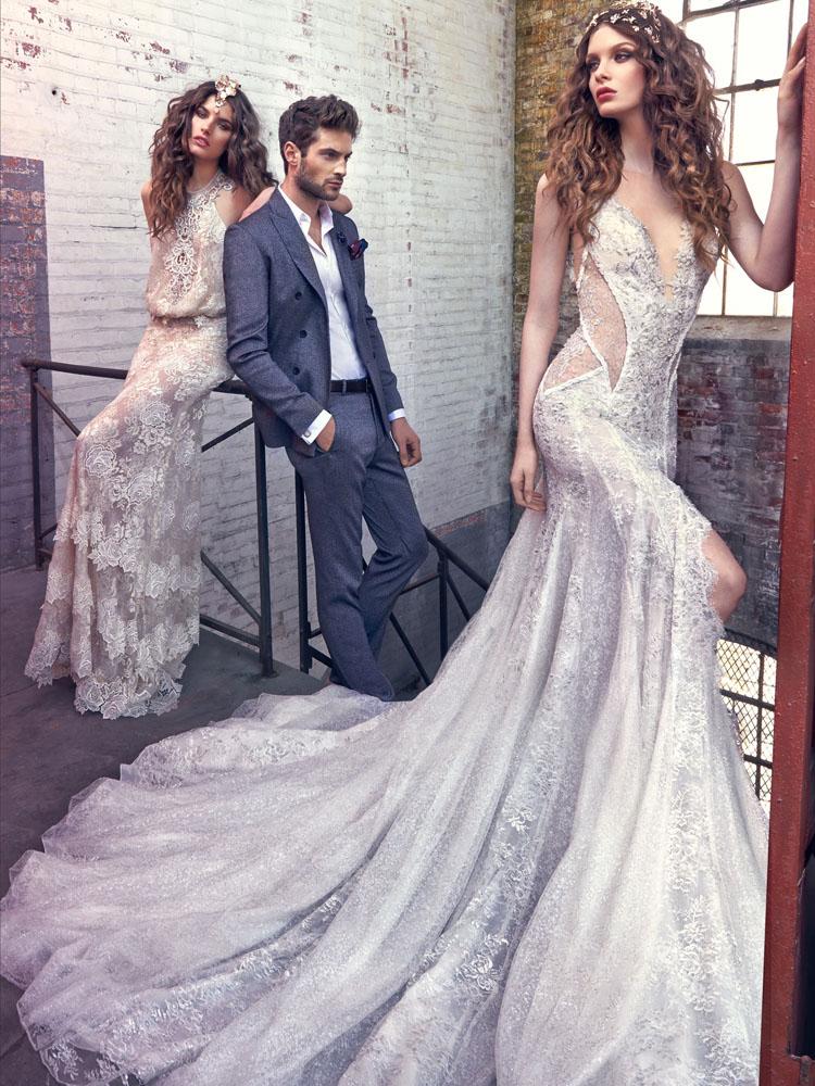 Bohemian wedding style - μποεμ στυλ νυφικών φορεμ΄ατων